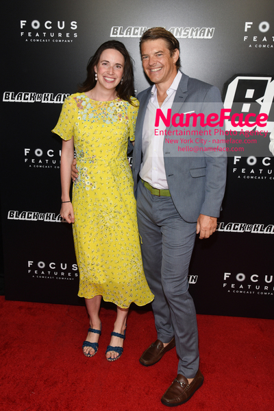 New York Premiere of BlacKkKlansman Lauren Schuker and Jason Blum - NameFace Photo Agency New York City - hello@nameface.com - nameface.com - Photo by Daniela Kirsch