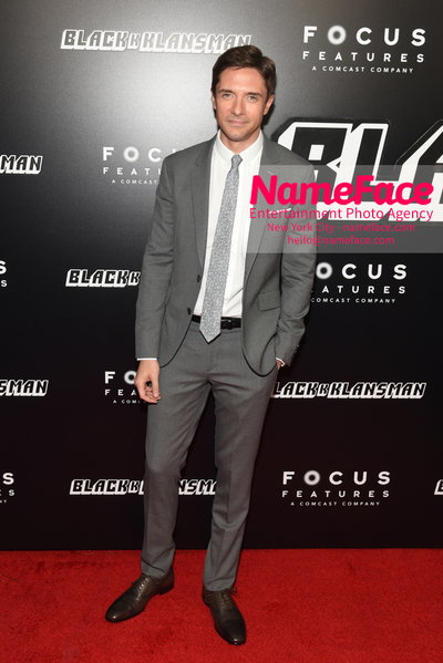 New York Premiere of BlacKkKlansman Topher Grace - NameFace Photo Agency New York City - hello@nameface.com - nameface.com - Photo by Daniela Kirsch
