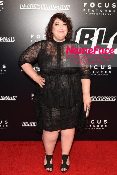 New York Premiere of BlacKkKlansman Ashlie Atkinson - NameFace Photo Agency New York City - hello@nameface.com - nameface.com - Photo by Daniela Kirsch