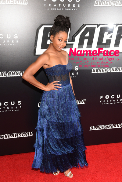New York Premiere of BlacKkKlansman Bresha Webb - NameFace Photo Agency New York City - hello@nameface.com - nameface.com - Photo by Daniela Kirsch