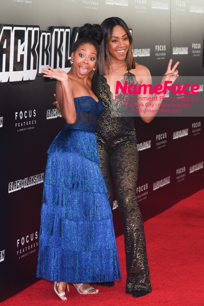 New York Premiere of BlacKkKlansman Bresha Webb and Tiffany Haddish - NameFace Photo Agency New York City - hello@nameface.com - nameface.com - Photo by Daniela Kirsch
