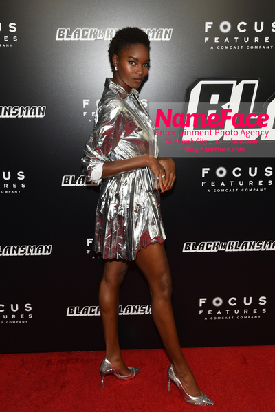 New York Premiere of BlacKkKlansman Damaris Lewis - NameFace Photo Agency New York City - hello@nameface.com - nameface.com - Photo by Daniela Kirsch