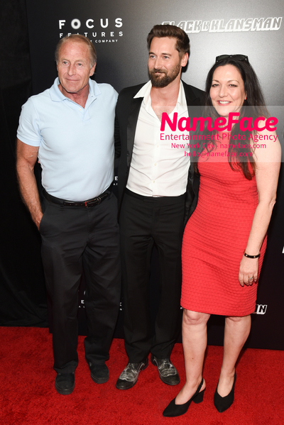 New York Premiere of BlacKkKlansman James Frederick Eggold, Ryan Eggold and Karen Benik - NameFace Photo Agency New York City - hello@nameface.com - nameface.com - Photo by Daniela Kirsch