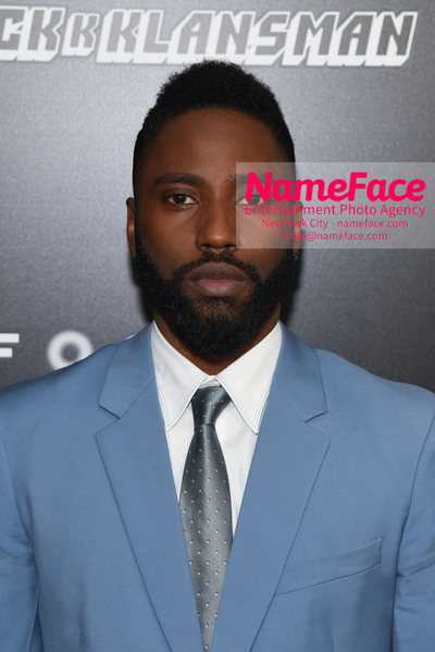New York Premiere of BlacKkKlansman John David Washington - NameFace Photo Agency New York City - hello@nameface.com - nameface.com - Photo by Daniela Kirsch
