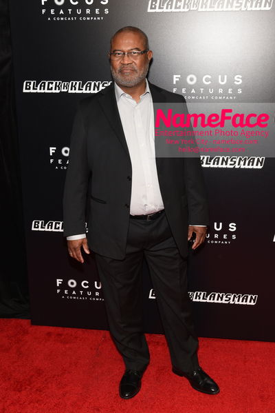 New York Premiere of BlacKkKlansman Ron Stallworth - NameFace Photo Agency New York City - hello@nameface.com - nameface.com - Photo by Daniela Kirsch