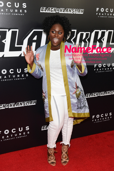 New York Premiere of BlacKkKlansman Danielle Brooks - NameFace Photo Agency New York City - hello@nameface.com - nameface.com - Photo by Daniela Kirsch