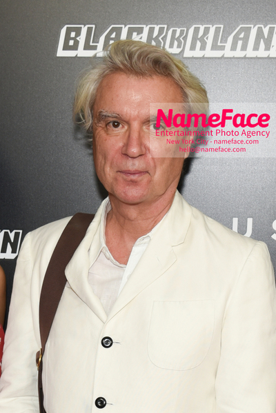 New York Premiere of BlacKkKlansman David Byrne - NameFace Photo Agency New York City - hello@nameface.com - nameface.com - Photo by Daniela Kirsch