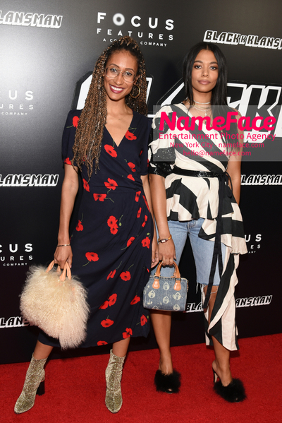 New York Premiere of BlacKkKlansman Elaine Welteroth and Aurora James - NameFace Photo Agency New York City - hello@nameface.com - nameface.com - Photo by Daniela Kirsch