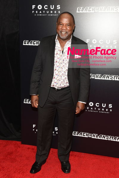 New York Premiere of BlacKkKlansman Isiah Whitlock - NameFace Photo Agency New York City - hello@nameface.com - nameface.com - Photo by Daniela Kirsch