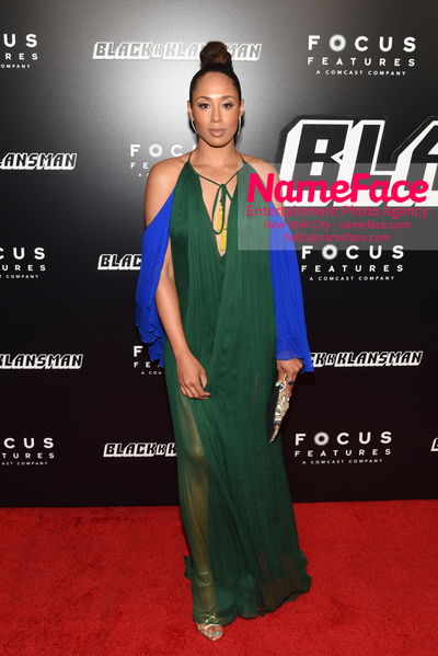 New York Premiere of BlacKkKlansman Margot Bingham - NameFace Photo Agency New York City - hello@nameface.com - nameface.com - Photo by Daniela Kirsch