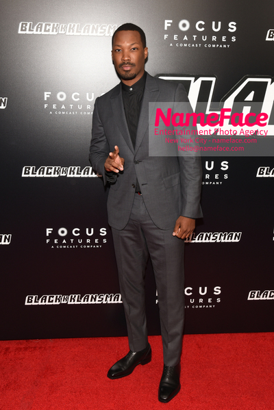 New York Premiere of BlacKkKlansman Corey Hawkins - NameFace Photo Agency New York City - hello@nameface.com - nameface.com - Photo by Daniela Kirsch