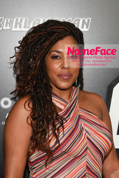 New York Premiere of BlacKkKlansman DeAdre Aziza - NameFace Photo Agency New York City - hello@nameface.com - nameface.com - Photo by Daniela Kirsch