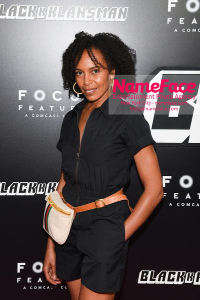 New York Premiere of BlacKkKlansman Eisa Davis - NameFace Photo Agency New York City - hello@nameface.com - nameface.com - Photo by Daniela Kirsch
