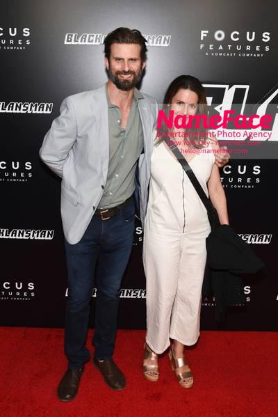 New York Premiere of BlacKkKlansman Fred Weller and Ali Marsh - NameFace Photo Agency New York City - hello@nameface.com - nameface.com - Photo by Daniela Kirsch