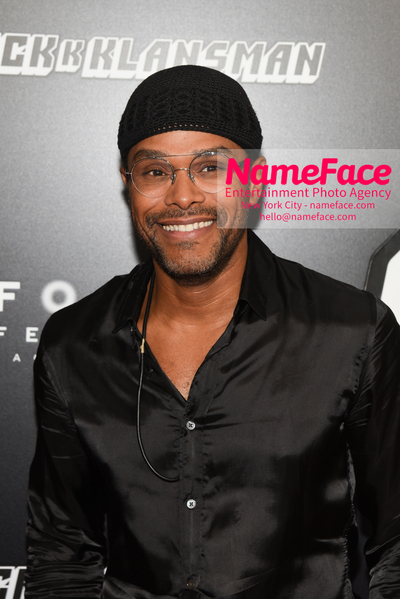New York Premiere of BlacKkKlansman Maxwell - NameFace Photo Agency New York City - hello@nameface.com - nameface.com - Photo by Daniela Kirsch