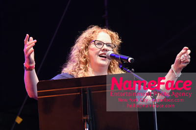 NPR Musics Turning the Tables Live: 21st-Century Edition Ann Powers - NameFace Photo Agency New York City - hello@nameface.com - nameface.com - Photo by Daniela Kirsch