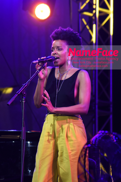 NPR Musics Turning the Tables Live: 21st-Century Edition Jamila Woods - NameFace Photo Agency New York City - hello@nameface.com - nameface.com - Photo by Daniela Kirsch