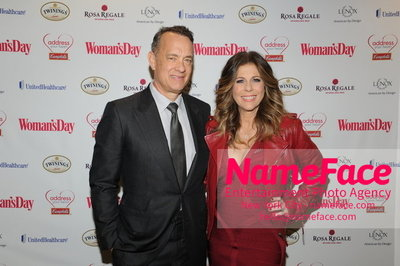 Womans Day Red Dress Awards to benefit the American Heart Associations Go Red For Women 2014 Hank Thomas and Rita Wilson - NameFace Photo Agency New York City - hello@nameface.com - nameface.com - Photo by