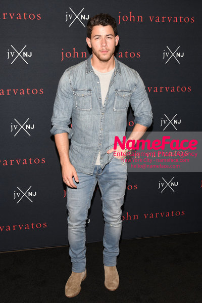 John Varvatos and Nick Jonas Fragrance Launch JVxNJ and Birthday Bash Nick Jonas - NameFace Photo Agency New York City - hello@nameface.com - nameface.com - Photo by Daniela Kirsch