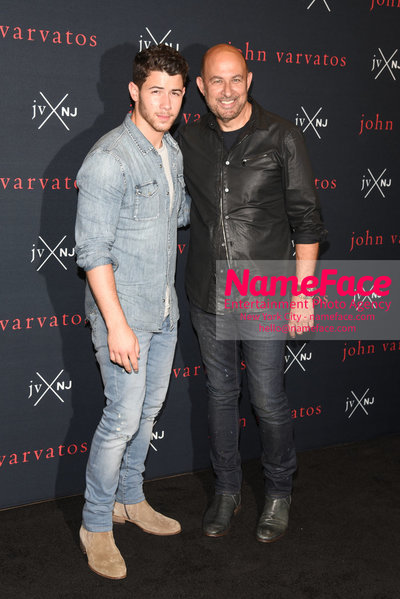 John Varvatos and Nick Jonas Fragrance Launch JVxNJ and Birthday Bash Nick Jonas and John Varvatos - NameFace Photo Agency New York City - hello@nameface.com - nameface.com - Photo by Daniela Kirsch