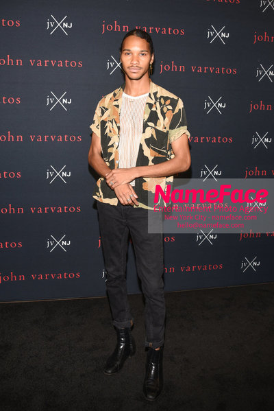 John Varvatos and Nick Jonas Fragrance Launch JVxNJ and Birthday Bash Jordun Love - NameFace Photo Agency New York City - hello@nameface.com - nameface.com - Photo by Daniela Kirsch