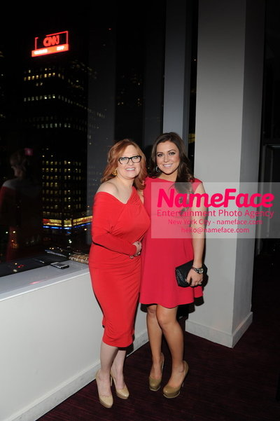 Womans Day Red Dress Awards to benefit the American Heart Associations Go Red For Women 2014 Caroline Manzo and Lauren Manzo - NameFace Photo Agency New York City - hello@nameface.com - nameface.com - Photo by