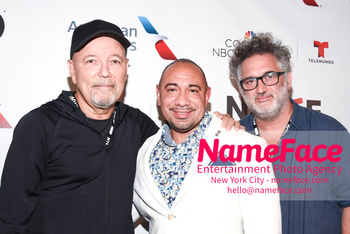 Opening Night Latino Film Festival and Screening 'Ruben Blades Is Not My Name' Ruben Blades, Calixto Chinchilla and Abner Benaim - NameFace Photo Agency New York City - hello@nameface.com - nameface.com - Photo by Daniela Kirsch