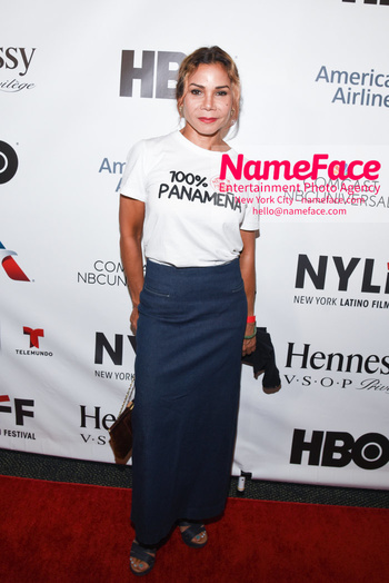 Opening Night Latino Film Festival and Screening 'Ruben Blades Is Not My Name' Daphne Rubin-Vega - NameFace Photo Agency New York City - hello@nameface.com - nameface.com - Photo by Daniela Kirsch