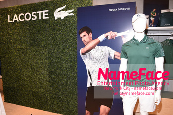 Macy's celebrates Lacoste's new crocodile tennis star Novak Djokovic Atmosphere - NameFace Photo Agency New York City - hello@nameface.com - nameface.com - Photo by Daniela Kirsch