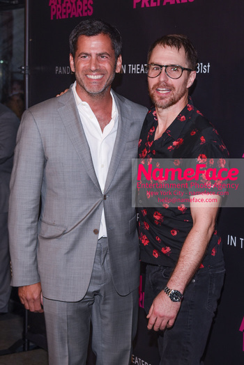 NYC Movie Premiere of An Actor Prepares David M. Rosenthal and Sam Rockwell - NameFace Photo Agency New York City - hello@nameface.com - nameface.com - Photo by Daniela Kirsch