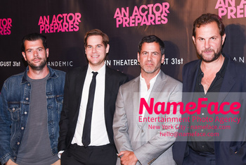 NYC Movie Premiere of An Actor Prepares Tom Butterfield, Thomas Moffett, David M. Rosenthal and Steve Clark - NameFace Photo Agency New York City - hello@nameface.com - nameface.com - Photo by Daniela Kirsch