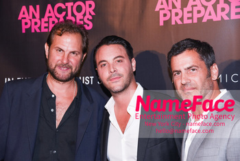 NYC Movie Premiere of An Actor Prepares Steve Clark, Jack Huston and David M. Rosenthal - NameFace Photo Agency New York City - hello@nameface.com - nameface.com - Photo by Daniela Kirsch