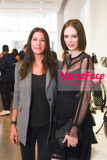 NYFW: An Exclusive Fashion Week Lunch Event at Rebecca Minkoff Rebecca Minkoff and Coco Rocha - NameFace Photo Agency New York City - hello@nameface.com - nameface.com - Photo by Daniela Kirsch