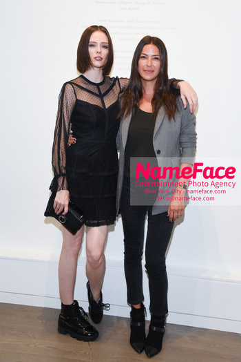 NYFW: An Exclusive Fashion Week Lunch Event at Rebecca Minkoff Coco Rocha and Rebecca Minkoff - NameFace Photo Agency New York City - hello@nameface.com - nameface.com - Photo by Daniela Kirsch