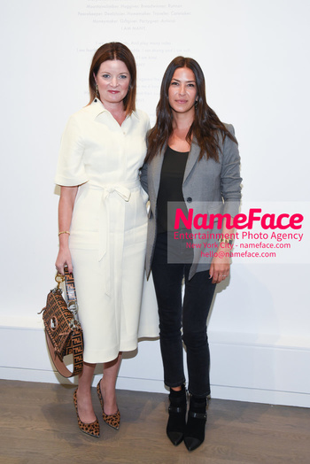NYFW: An Exclusive Fashion Week Lunch Event at Rebecca Minkoff Guest and Rebecca Minkoff - NameFace Photo Agency New York City - hello@nameface.com - nameface.com - Photo by Daniela Kirsch