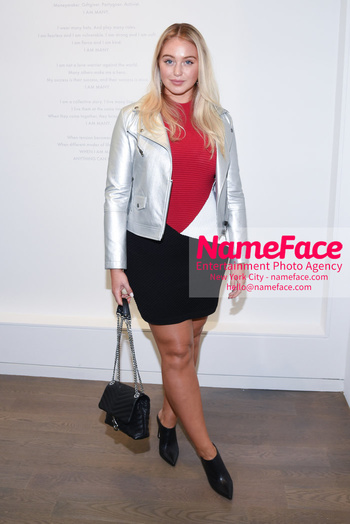 NYFW: An Exclusive Fashion Week Lunch Event at Rebecca Minkoff Iskra Lawrence - NameFace Photo Agency New York City - hello@nameface.com - nameface.com - Photo by Daniela Kirsch