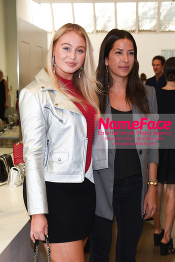 NYFW: An Exclusive Fashion Week Lunch Event at Rebecca Minkoff Iskra Lawrence and Rebecca Minkoff - NameFace Photo Agency New York City - hello@nameface.com - nameface.com - Photo by Daniela Kirsch