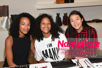 NYFW: An Exclusive Fashion Week Lunch Event at Rebecca Minkoff Guest, Guest and Guest - NameFace Photo Agency New York City - hello@nameface.com - nameface.com - Photo by Daniela Kirsch