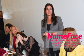 NYFW: An Exclusive Fashion Week Lunch Event at Rebecca Minkoff Iskra Lawrence, Coco Rocha and Rebecca Minkoff - NameFace Photo Agency New York City - hello@nameface.com - nameface.com - Photo by Daniela Kirsch