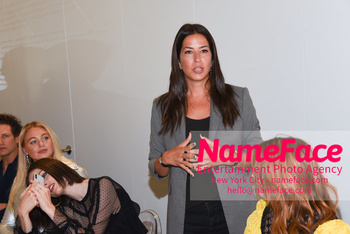NYFW: An Exclusive Fashion Week Lunch Event at Rebecca Minkoff Iskra Lawrence and Coco Rocha and Rebecca Minkoff - NameFace Photo Agency New York City - hello@nameface.com - nameface.com - Photo by Daniela Kirsch