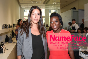 NYFW: An Exclusive Fashion Week Lunch Event at Rebecca Minkoff Rebecca Minkoff and Nikki Ogunnaike - NameFace Photo Agency New York City - hello@nameface.com - nameface.com - Photo by Daniela Kirsch