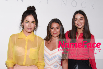 Noon By Noor - Front Row - September 2018 - New York Fashion Week: The Shows Camilla Belle, Michele Cea and Crystal Reed - NameFace Photo Agency New York City - hello@nameface.com - nameface.com - Photo by Daniela Kirsch