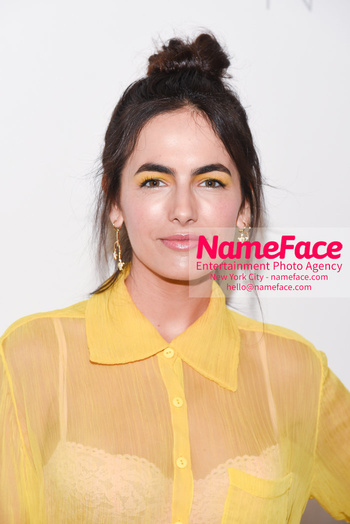 Noon By Noor - Front Row - September 2018 - New York Fashion Week: The Shows Camilla Belle - NameFace Photo Agency New York City - hello@nameface.com - nameface.com - Photo by Daniela Kirsch