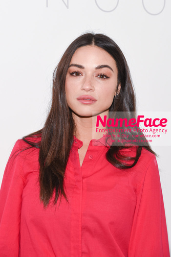 Noon By Noor - Front Row - September 2018 - New York Fashion Week: The Shows Crystal Reed - NameFace Photo Agency New York City - hello@nameface.com - nameface.com - Photo by Daniela Kirsch