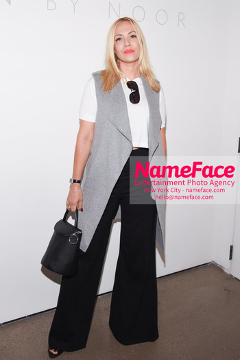 Noon By Noor - Front Row - September 2018 - New York Fashion Week: The Shows Guest - NameFace Photo Agency New York City - hello@nameface.com - nameface.com - Photo by Daniela Kirsch