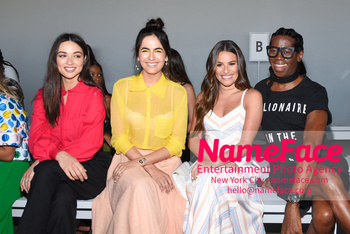 Noon By Noor - Front Row - September 2018 - New York Fashion Week: The Shows Crystal Reed, Camilla Belle, Lea Michele and J. Alexander - NameFace Photo Agency New York City - hello@nameface.com - nameface.com - Photo by Daniela Kirsch