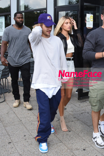 NYFW John Elliott Runway Show Arrivals Justin Bieber and Hailey Baldwin - NameFace Photo Agency New York City - hello@nameface.com - nameface.com - Photo by Daniela Kirsch