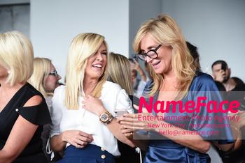 NYFW Pamella Roland Runway Show Tinsley Mortimer and Sonja Morgan - NameFace Photo Agency New York City - hello@nameface.com - nameface.com - Photo by Daniela Kirsch