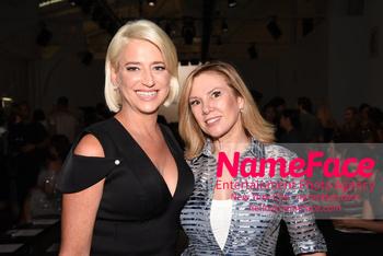 NYFW Pamella Roland Runway Show Dorinda Medley and Ramona Singer - NameFace Photo Agency New York City - hello@nameface.com - nameface.com - Photo by Daniela Kirsch