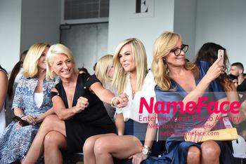 NYFW Pamella Roland Runway Show Ramona Singer, Dorinda Medley, Tinsley Mortimer and Sonja Morgan - NameFace Photo Agency New York City - hello@nameface.com - nameface.com - Photo by Daniela Kirsch